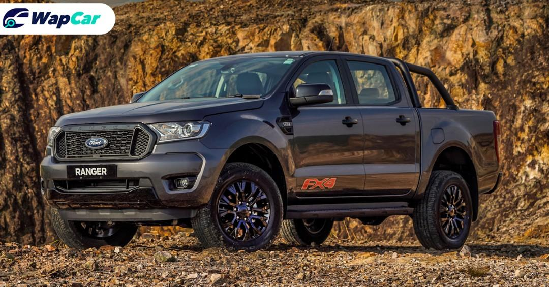 The RM 126,888 Ford Ranger FX4 is a dressed-up Ranger XLT, no additional power 01