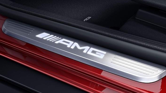 2018 Mercedes-Benz AMG GLC 300 Coupe AMG Line Interior 009