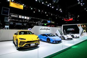 Live Photos: 2020 Lamborghini Aventador SVJ Roadster, Huracan Evo, and Urus showcased in Bangkok