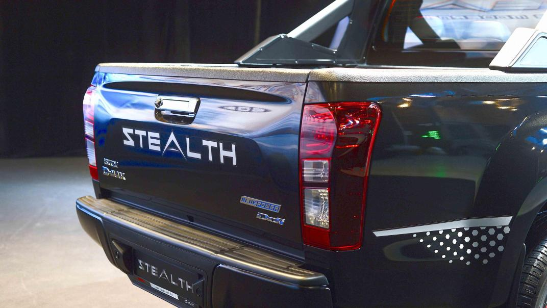 2020 Isuzu D-Max Stealth 1.9L 4×4 AT Exterior 035