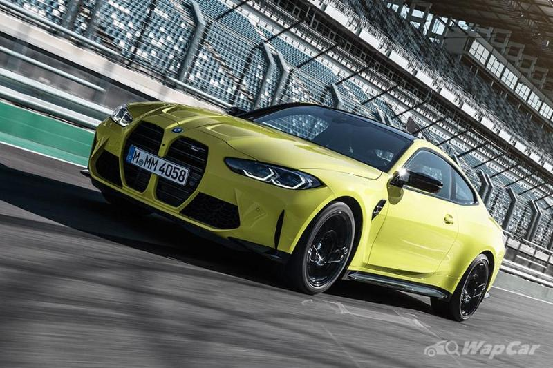 A German tuner 'fixed' the 2021 BMW M4's controversial grille 02