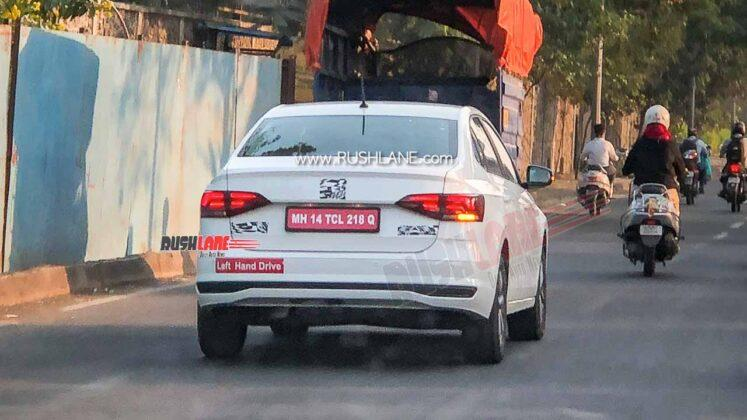 Spied: Volkswagen Virtus caught testing in India, Vento replacement for Malaysia? 02