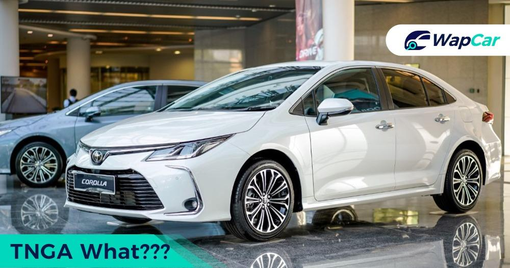 Toyota Corolla Altis'TNGA platform, what is it and does it make any difference? 01