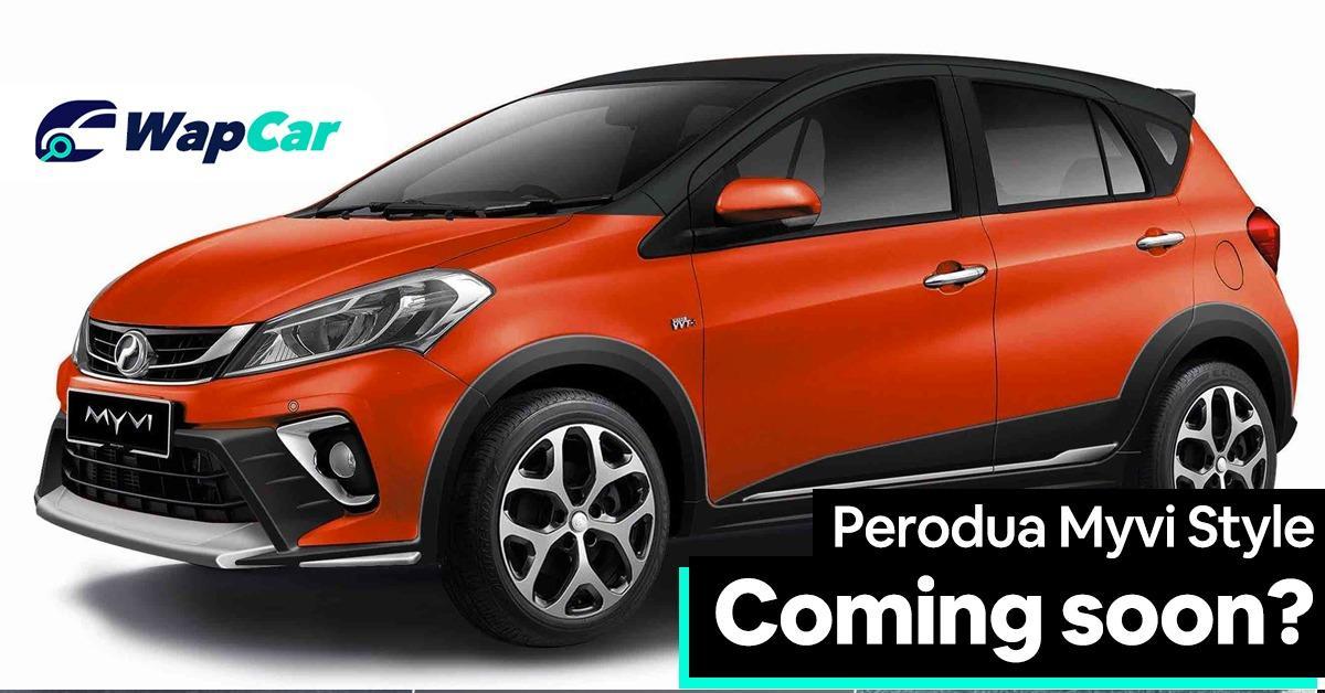 Perodua to debut Myvi Style soon? 01