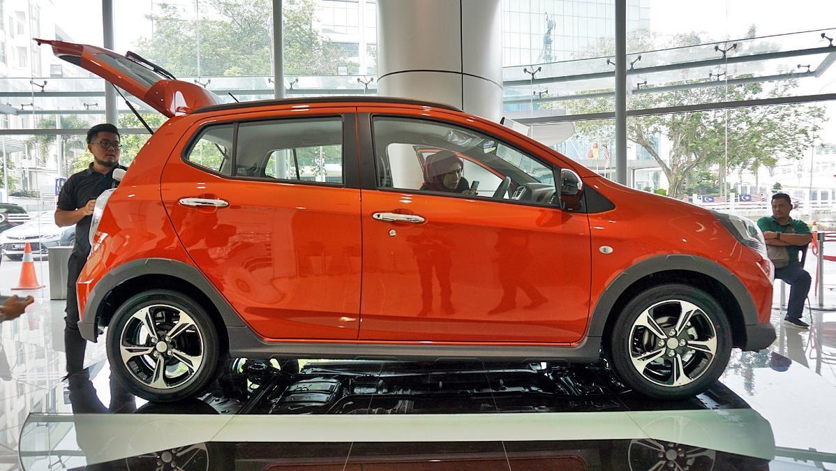 2019 Perodua Axia Style 1.0 AT Exterior 040