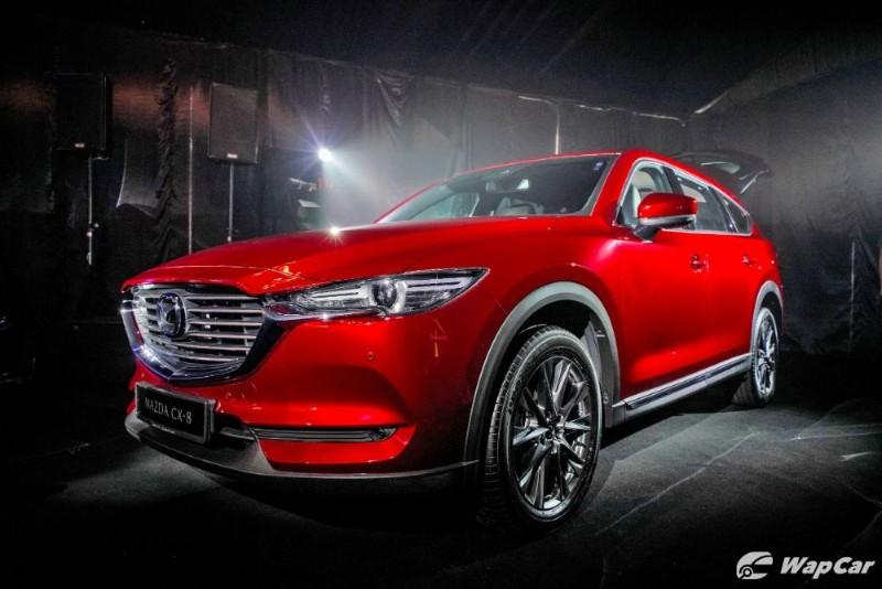 2019 Mazda CX-8 front