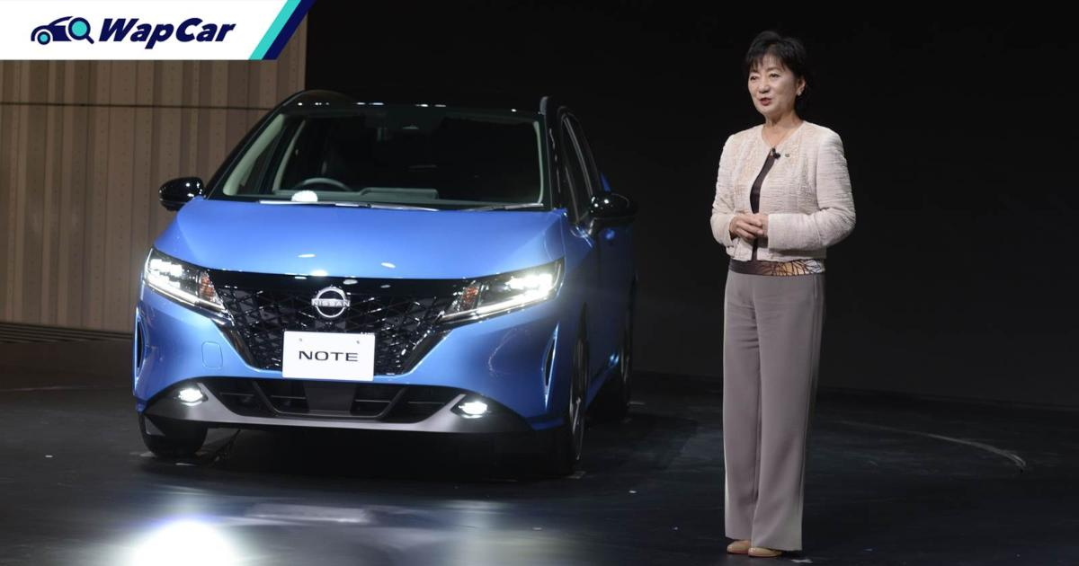 The 2021 Nissan Note is a rival to the Honda Jazz, but it's struggling to reach Malaysia 01