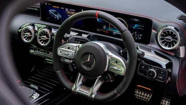 2020 Mercedes-Benz AMG CLA 45 S Interior 004