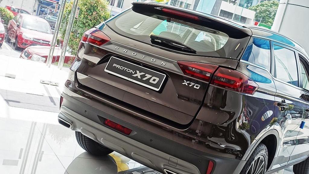 2018 Proton X70 1.8 TGDI Premium 2WD Exterior 034