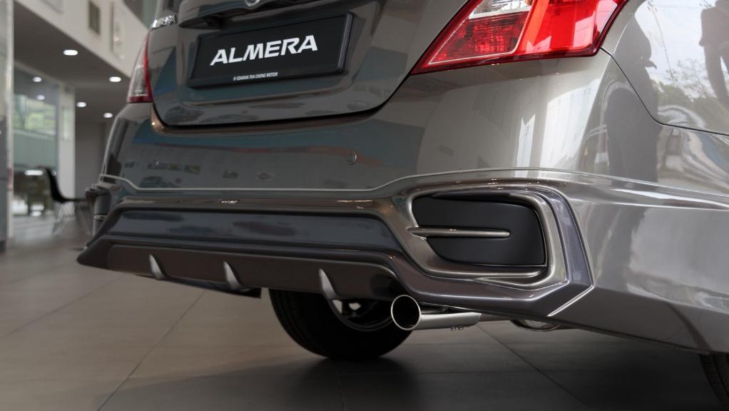 2018 Nissan Almera 1.5L VL AT Exterior 017