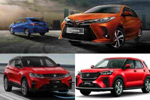 Which is a better buy? Perodua Ativa (D55L) vs Proton X50 vs Toyota Vios