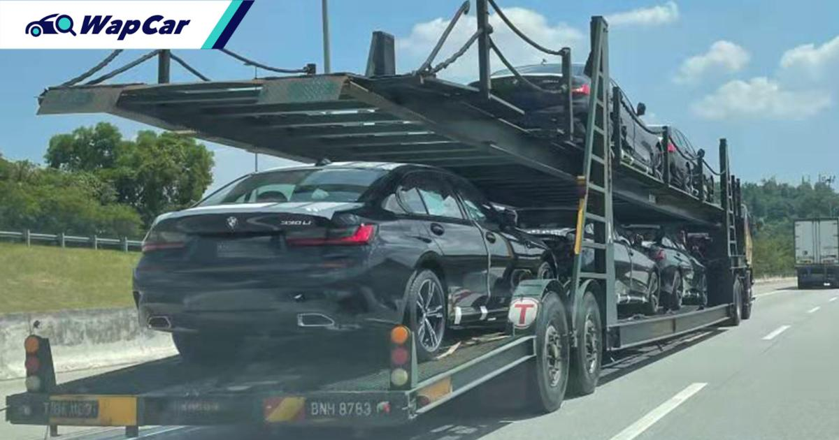 Spied: 2021 BMW 330 Li spotted on a trailer, are they Malaysia- or Thailand-bound? 01
