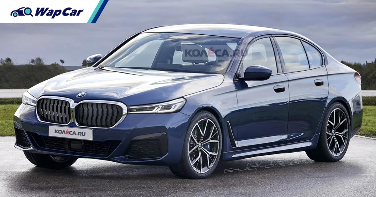 This is what the next-gen 2023 BMW 5 Series (G60) could look like 01