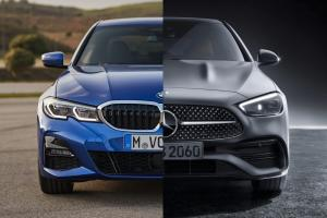 W206 Mercedes-Benz C-Class is bigger than G20 BMW 3 Series; cast your votes