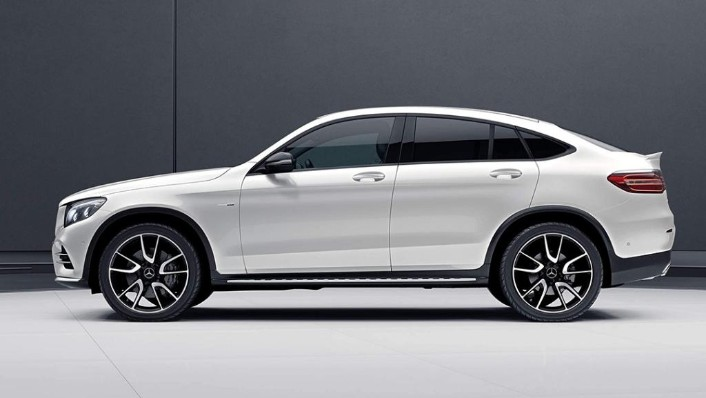 2018 Mercedes-Benz AMG GLC Coupe  43 4MATIC Coupe Exterior 009