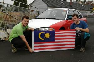 Malaysia Boleh – Proton Wira 'Teksi' takes on the Nurburgring