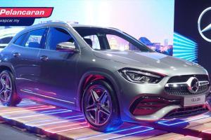 Mercedes-Benz GLA 2021 (H247) dilancarkan – Bermula RM 244K, sehingga 224 PS, 350 Nm tork