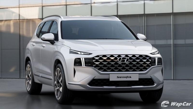 Hyundai Santa Fe 2021 facelift dikesan di Indonesia, pelancaran April. Malaysia seterusnya? 02
