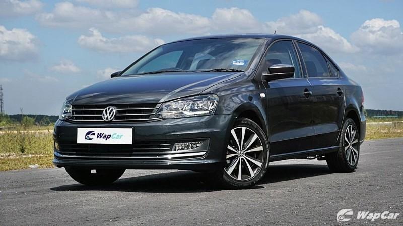 2020 Volkswagen Vento front view
