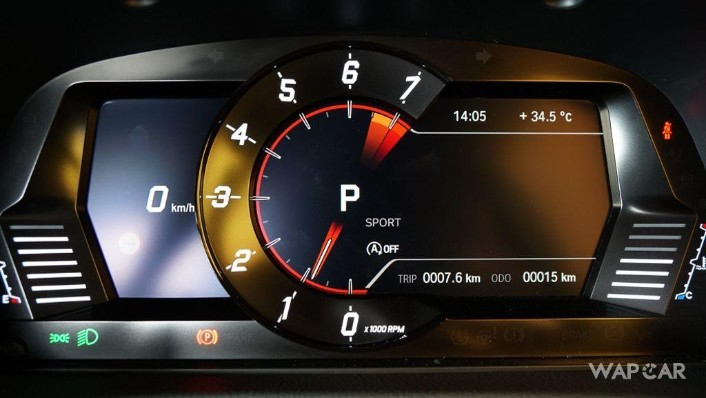 2019 Toyota GR Supra 3.0L Interior 007