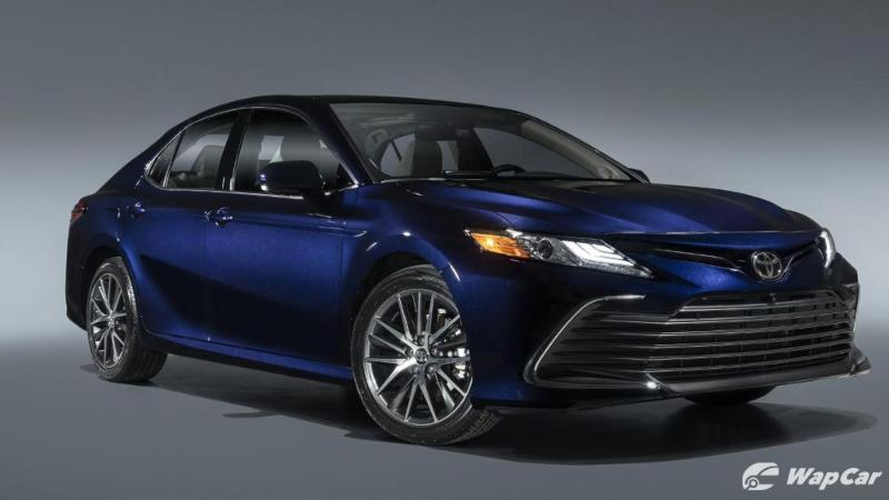 New 2021 Toyota Camry facelift gets TSS 2.5+ and new floating touchscreen  02