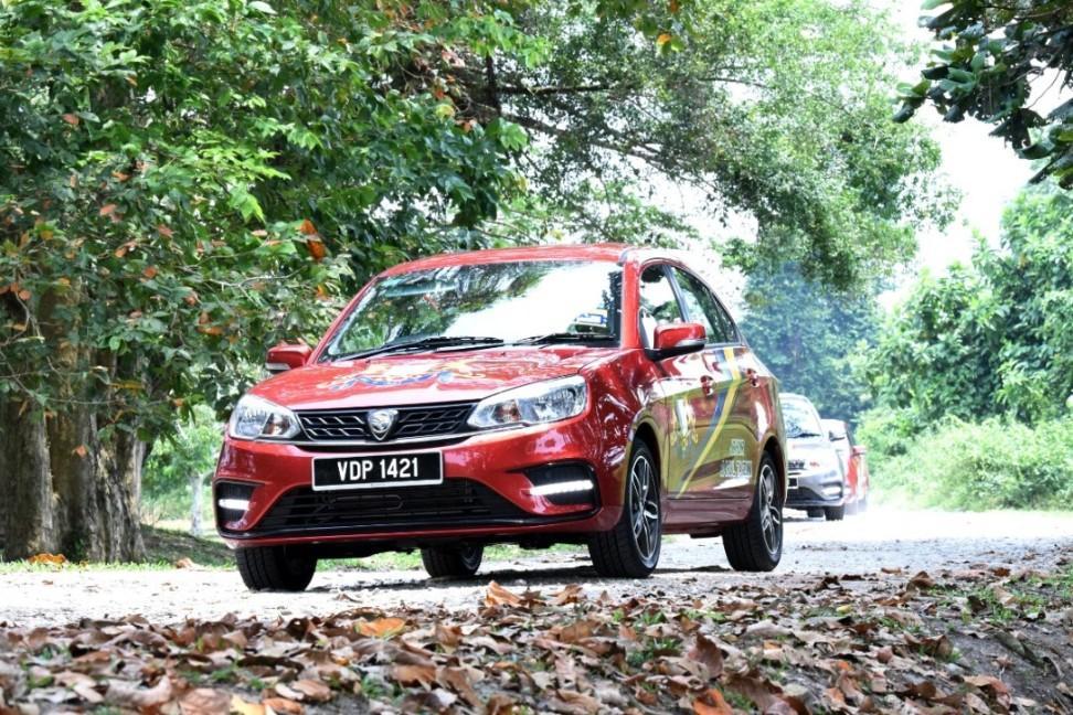 Proton Saga best selling A-segment sedan