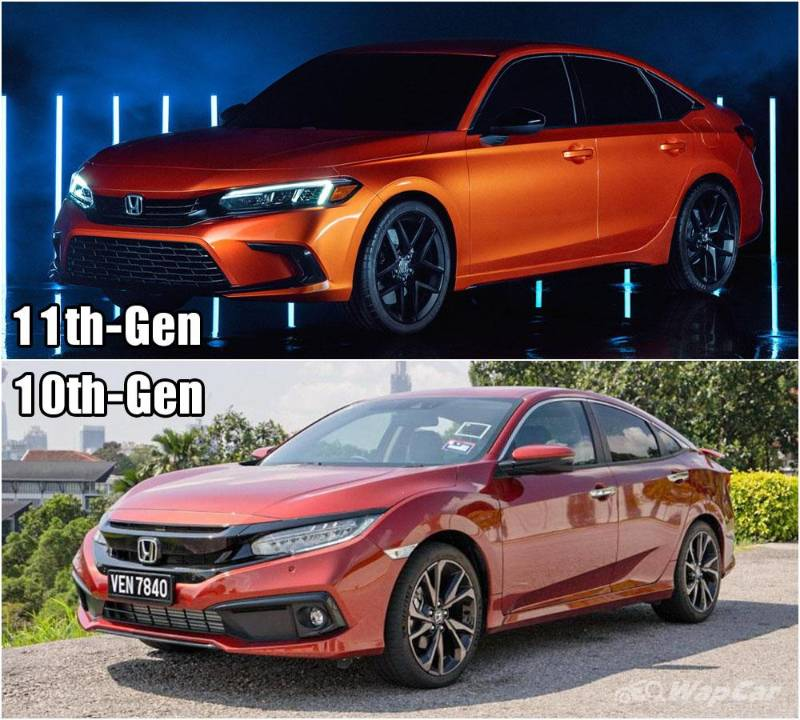 Honda Civic 2021 serba baru – Baru vs lama, lagi power atau tak? 02