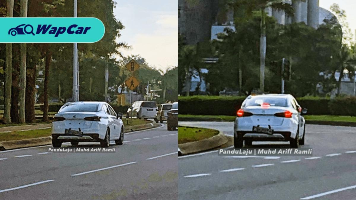 Spied: 2020 Nissan Almera in white, spotted again in Putrajaya! 01