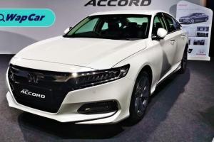 Honda Accord adalah sedan segmen D yang paling laris di Malaysia