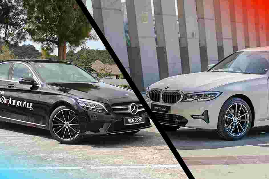 BMW 320i or Mercedes-Benz C200, which looks better on paper?