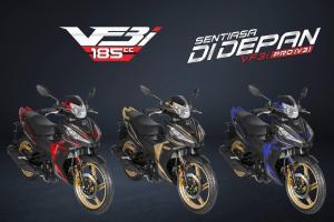 2020 SYM VF3i Pro generasi ke 3 dilancarkan. Moped 185 cc, harga cuma RM 9,338!