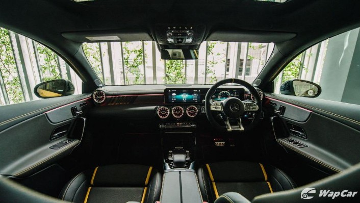 2020 Mercedes-Benz AMG A45 S Interior 002