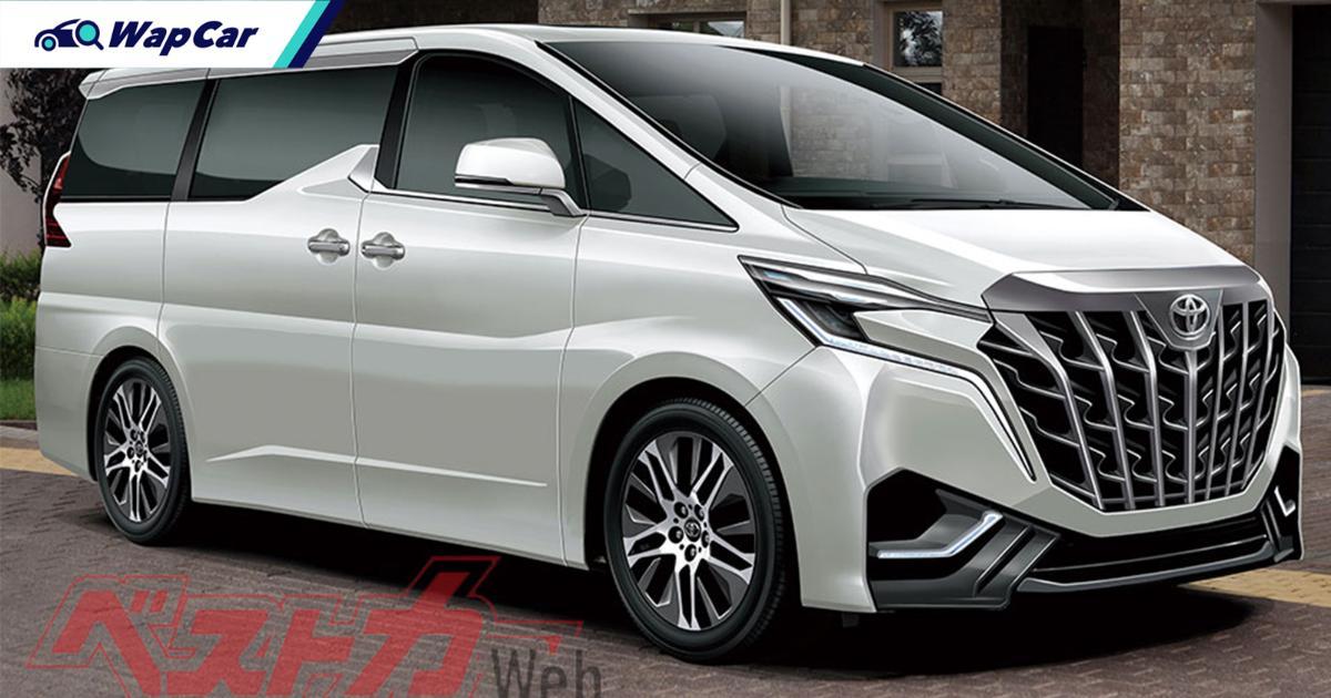 Toyota Alphard baharu bakal guna platform TNGA dan enjin hybrid dipertingkat, pelancaran tahun 2022! 01