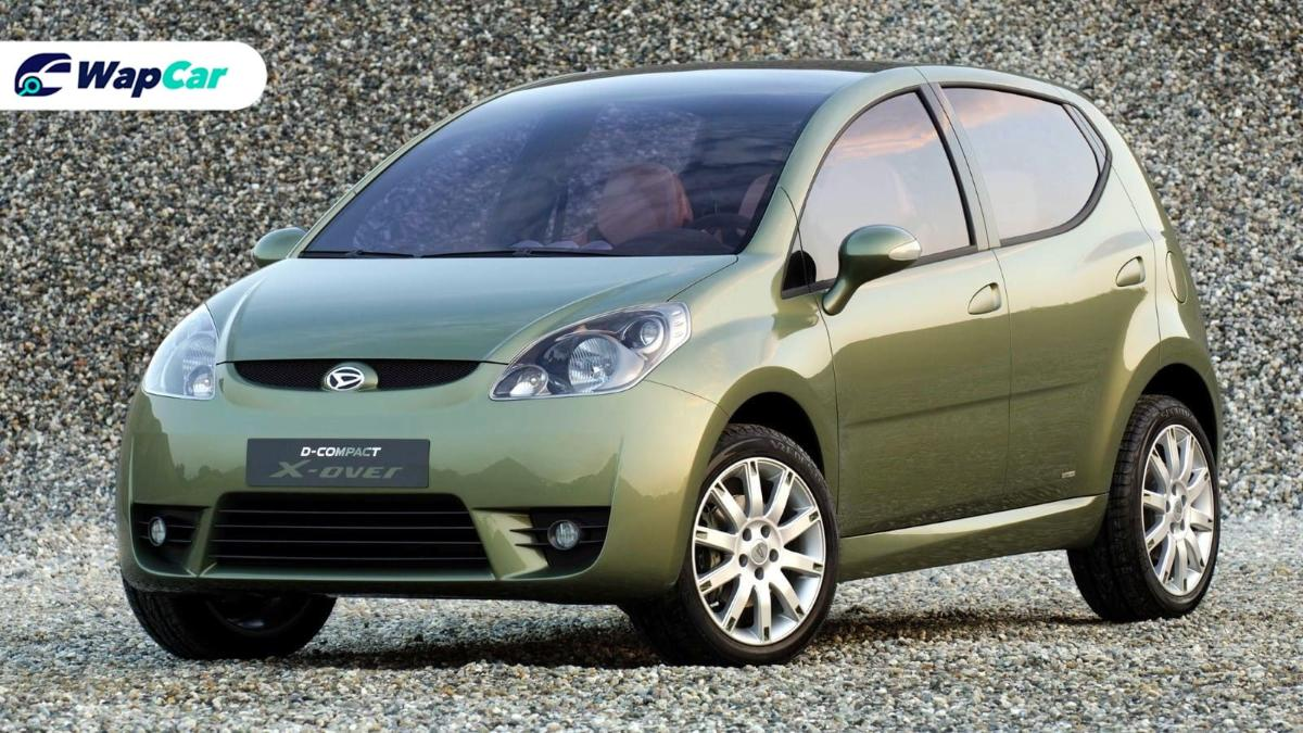 The Daihatsu D-Compact X-over is the Perodua Myvi Style that we wish we had 01