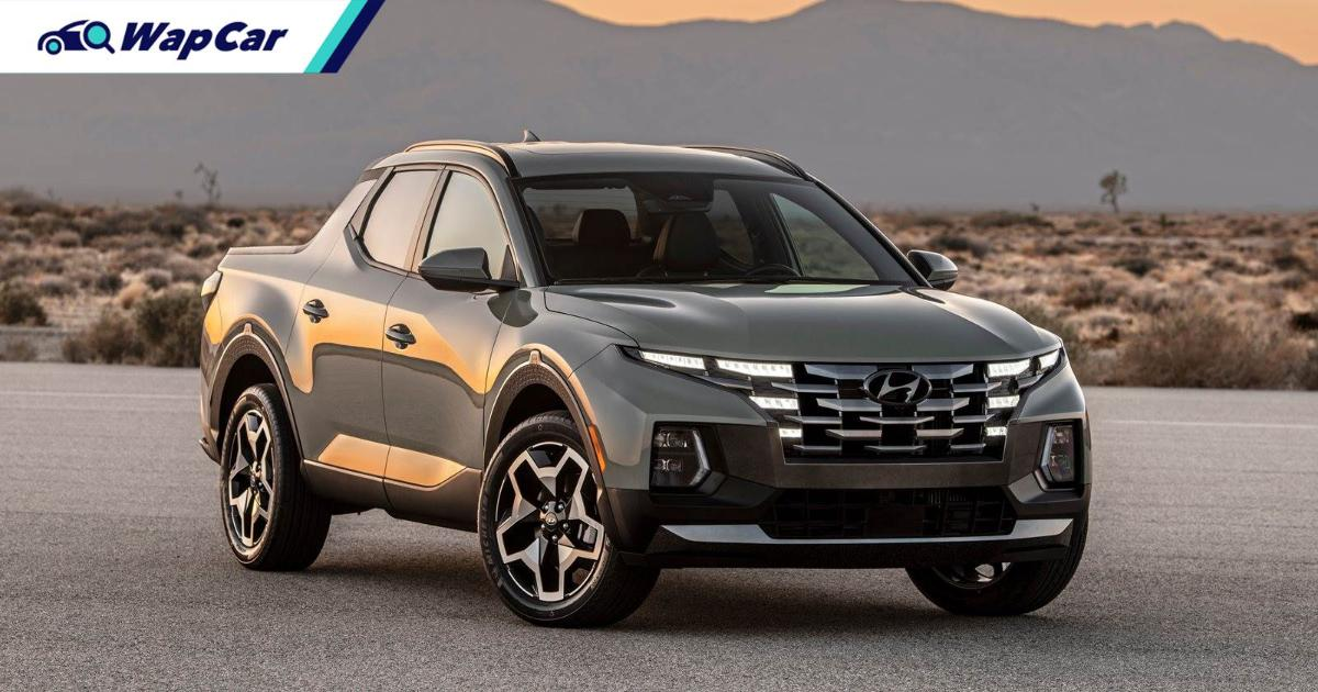 Not your Hilux, the Hyundai Santa Cruz is a unibody, pick-up version of the Tucson 01