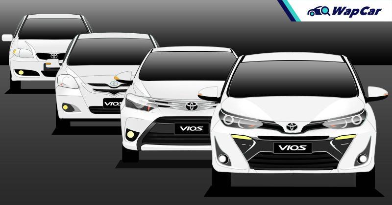 Evolusi Toyota Vios: 3 generasi dengan gelaran ikan! Yang mana paling lama bertahan? 01