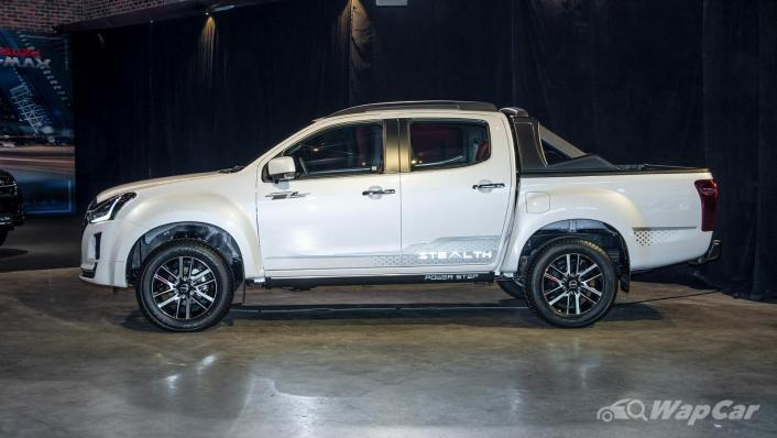 2020 Isuzu D-Max Stealth 1.9L 4×4 AT Exterior 003