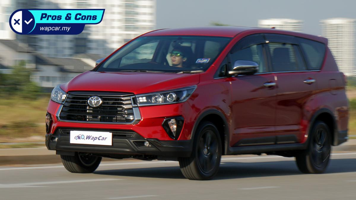 Pros and Cons: Very practical, but the 2021 Toyota Innova 2.0X needs more power 01