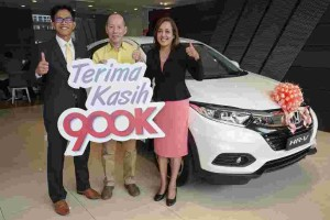 Second lucky winner of Honda's Road to 900,000th unit wins a HR-V, will you be next?