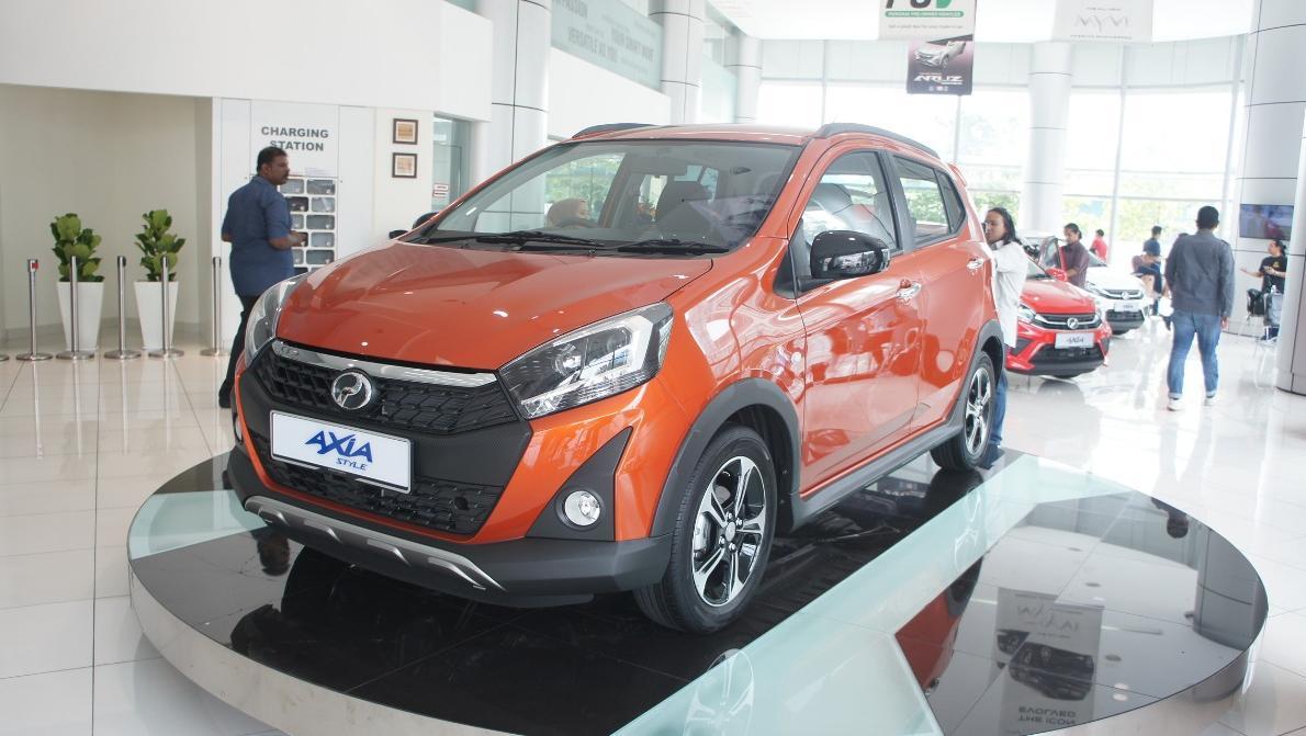 2019 Perodua Axia Style 1.0 AT Exterior 036