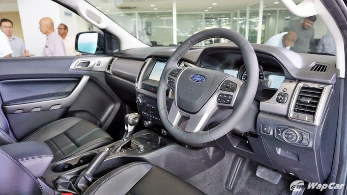 2019 Ford Ranger 2.0L XLT Limited Edition Interior 001
