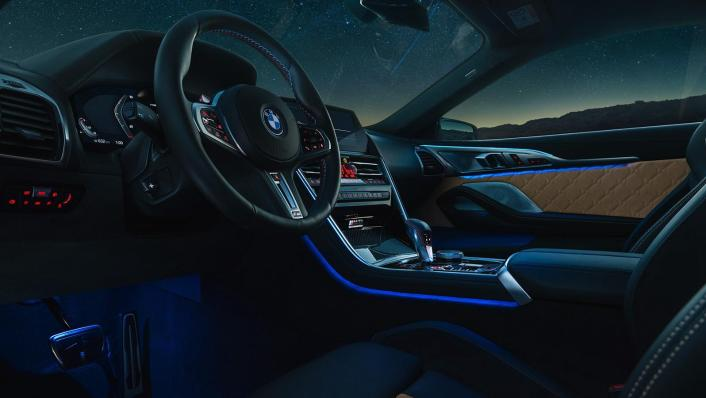 2020 BMW M850i xDrive Coupe Interior 006