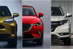 Toyota Yaris Cross: How big is it compared to the Honda HR-V and Mazda CX-3?