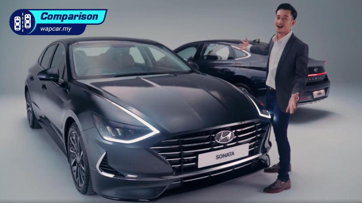 How does the all-new 2020 Hyundai Sonata compare to the Toyota Camry and Honda Accord? 01