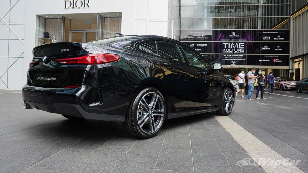 2020 BMW 2 Series 218i Gran Coupe Exterior 017
