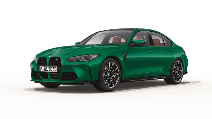 2021 BMW M3 Competition Exterior 001