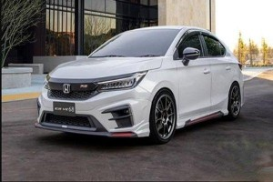Drive68 body kit fitted to the 2020 Honda City