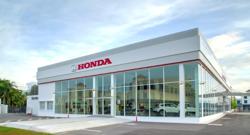 Honda's 3S Centre in Perak is Malaysia's first Gold-Rated Green Building Index car showroom 02