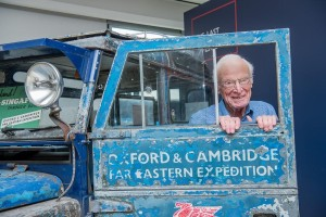 This 87-year old man will drive a 64-year old Land Rover from Singapore to London