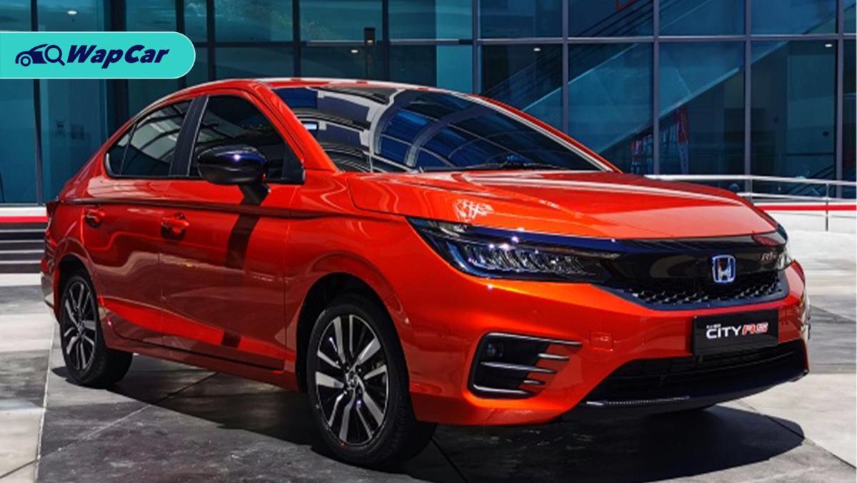 2020 Honda City serba baru pandangan awal dari media Thailand. Wajar pertimbang varian selain RS? 01